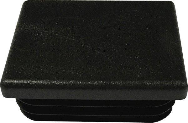 Tube end plug, black (50x40-1-3)