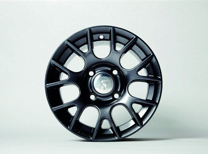 "12"" Alu Rim, Design 3, Gun Grey"