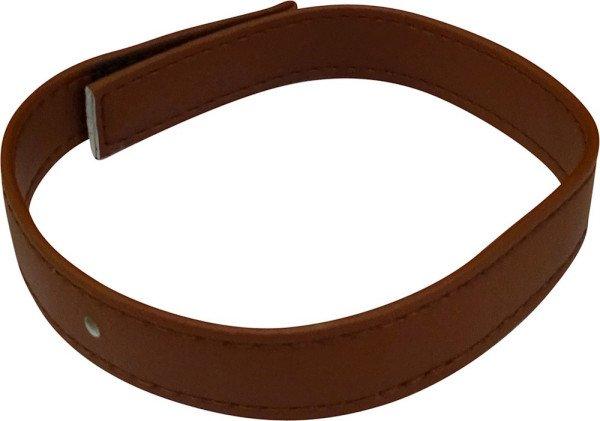 Leather strap, Walnut
