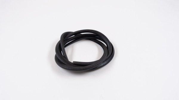 Rubber list, PVC 9,5x6,5 Black