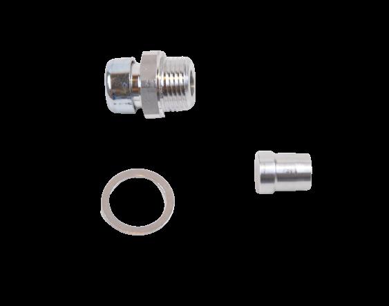Oil breather plug upgrade kit