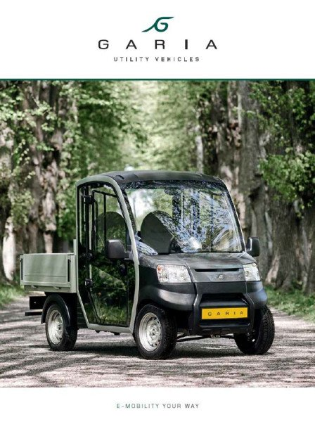 Garia Utility brochure 24 pages