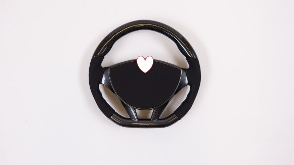 Mansory, Steering wheel type 2 (without scorecard clip)