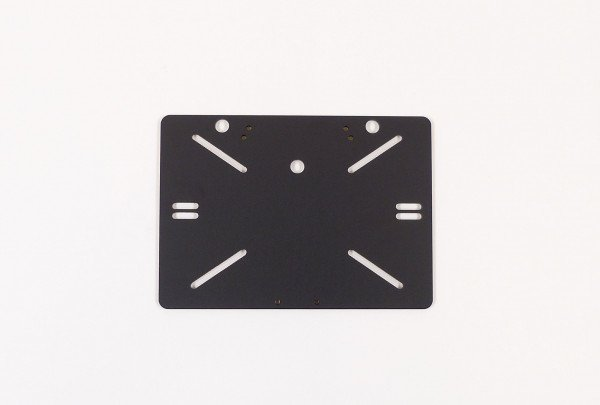 Attachment plate, front licens plate, Monaco 4
