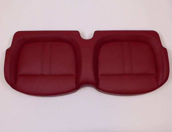 Seat cushion, front, 4-seater, Cherry (Mon 4/Via 4)