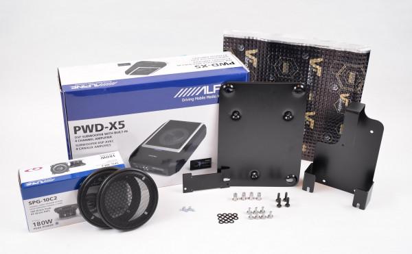 Alpine PWDX5 Garia Edition, Complete kit