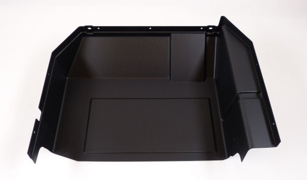 Front storage box, rear