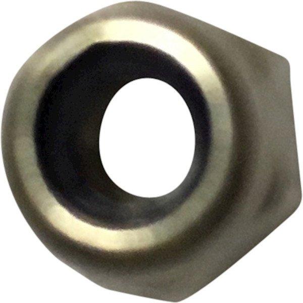 Nut, M6, A2, DIN985/ISO7040