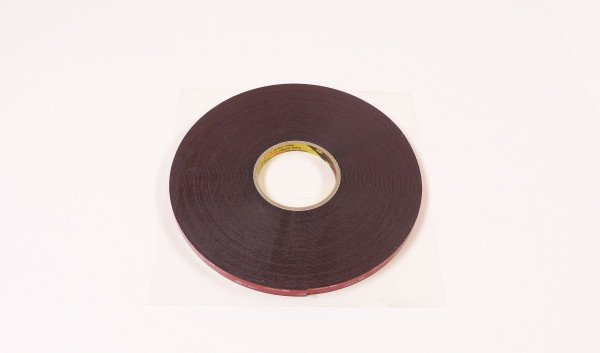 Tape, doubble sided 1,1 x 12mm x 33m