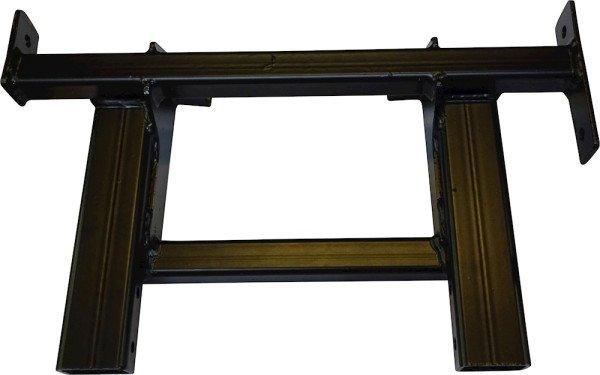 Rear platform main support assembly