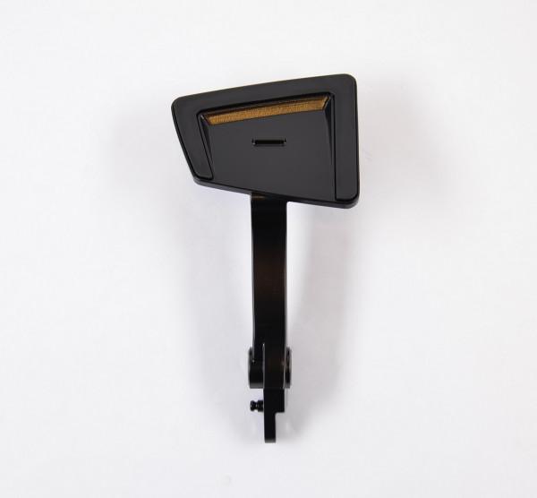 Brake pedal asm, Black
