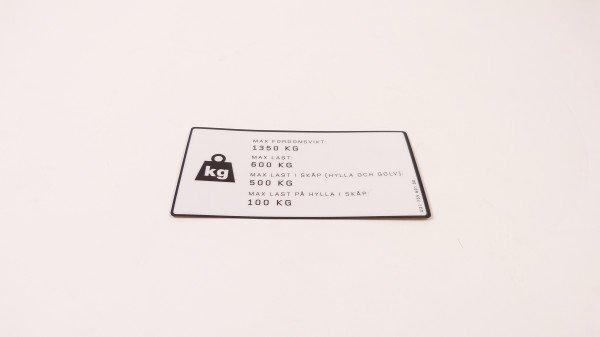Load sticker, SE