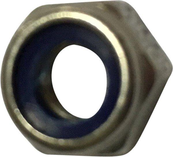 Nut, M4, A2 DIN 985 / ISO 7040