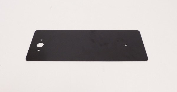 Rear reflex plate