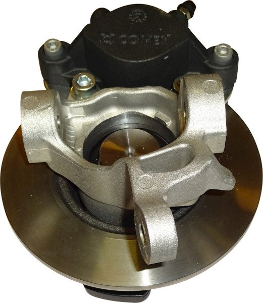 Spindle assembly, RH w/caliper