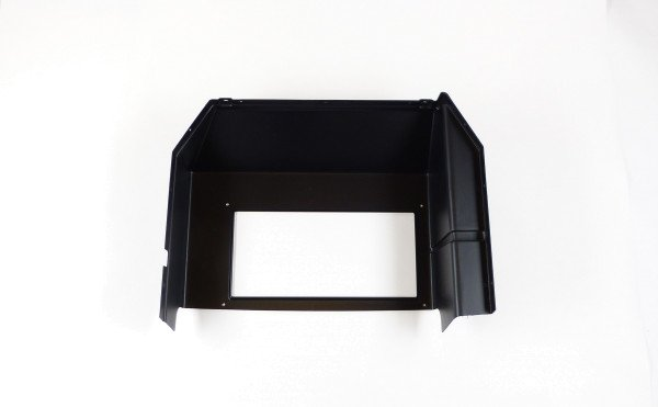 Front storage box, rear for cooler