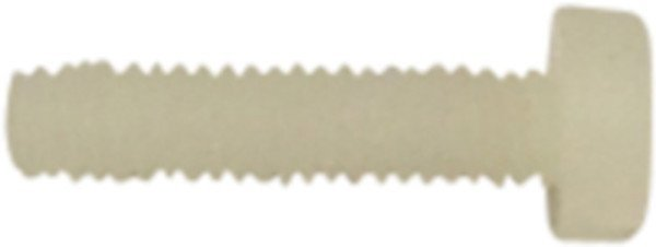 Bolt, Nylon M04x16 DIN 84