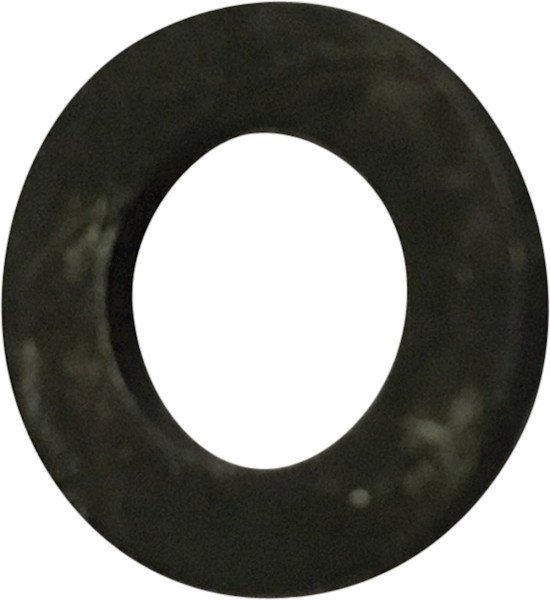 Washer, M6, DIN 125/ISO7089, Black passivated