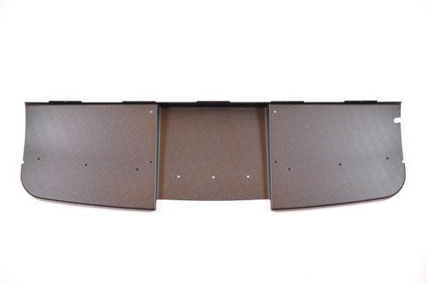 Dashboard panel, bottom